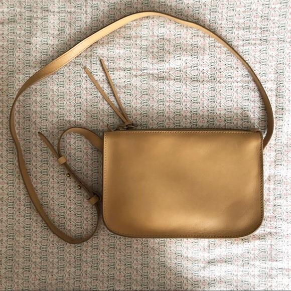 Madewell Handbags - NWOT Madewell Simple Leather Crossbody.